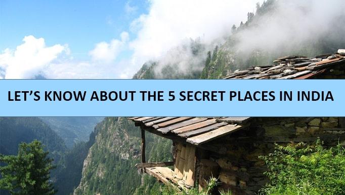 Secret Places in India